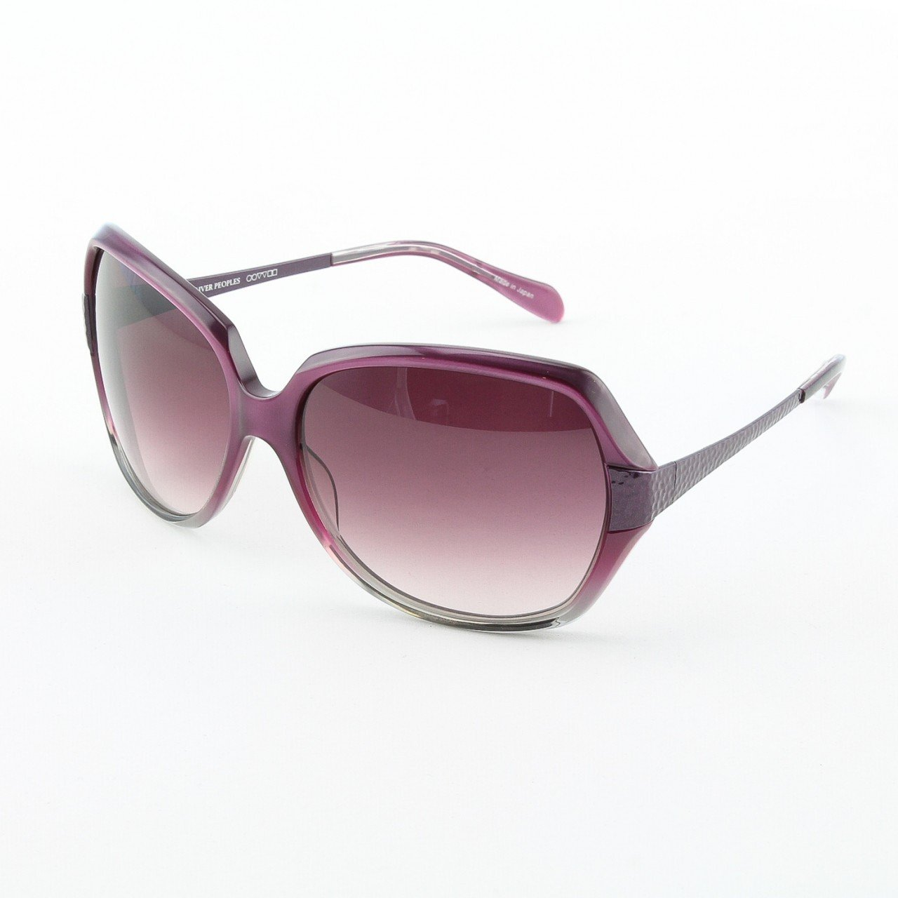 Oliver Peoples Guiselle Sunglasses Col. AMEGR Amethyst with purple Gradient Lenses
