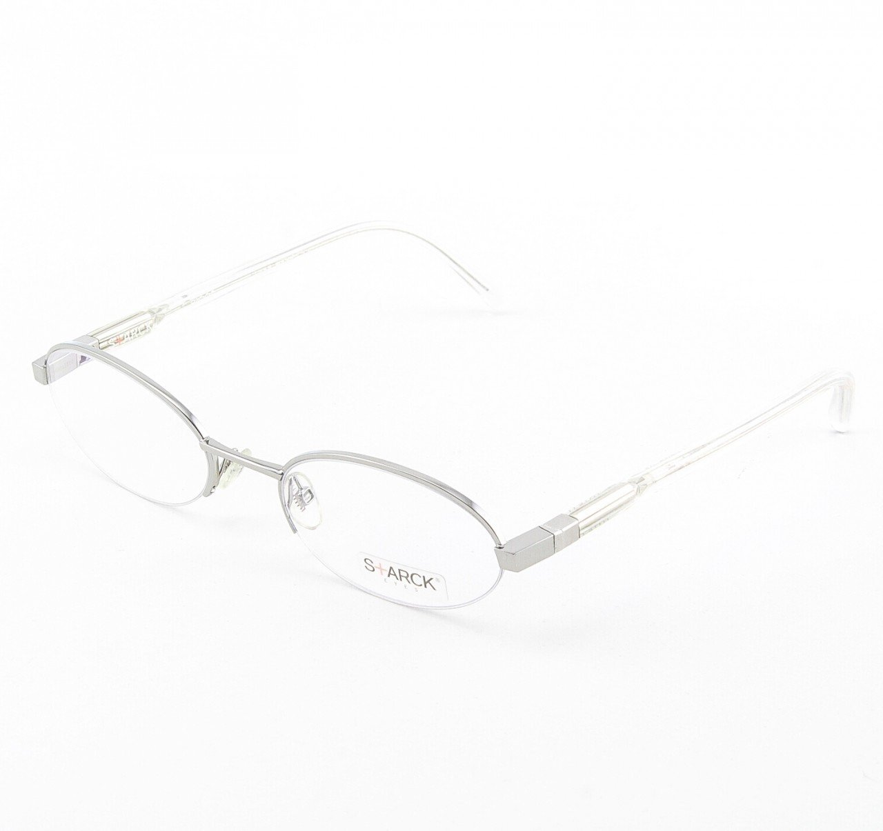Starck Eyeglasses P0648 Col. 09 Crystal with Clear Lenses