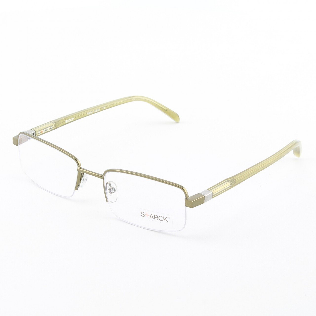 Starck Eyeglasses P0621 Col. 11 Bronze with Clear Lenses
