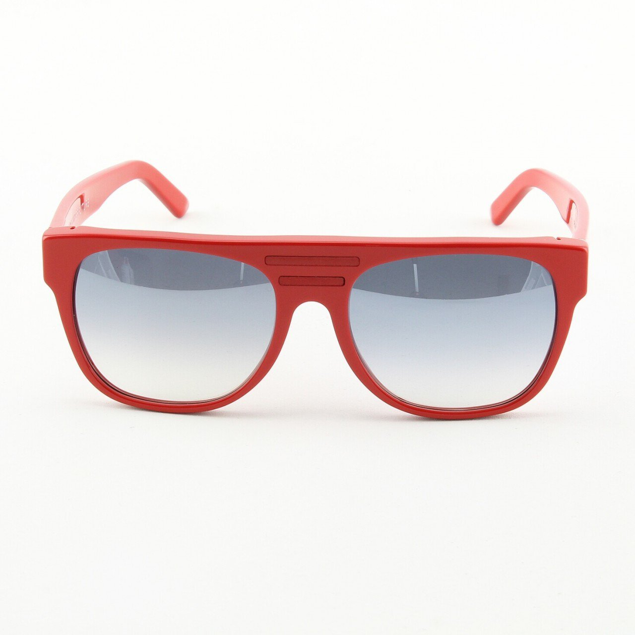 Super TopSki 230 Sunglasses Red with Red Detachable Leather Sides by RETROSUPERFUTURE