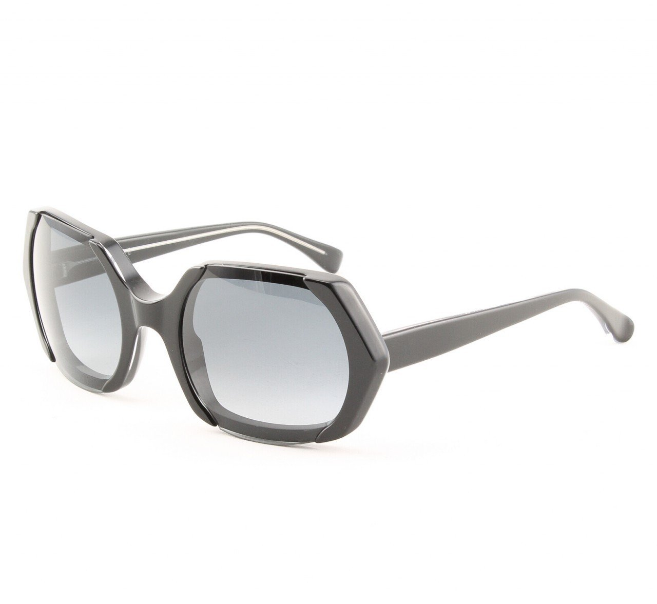 Marni MA223 Sunglasses Col. 06 Hi Tech Black Enamel with Gray Lenses