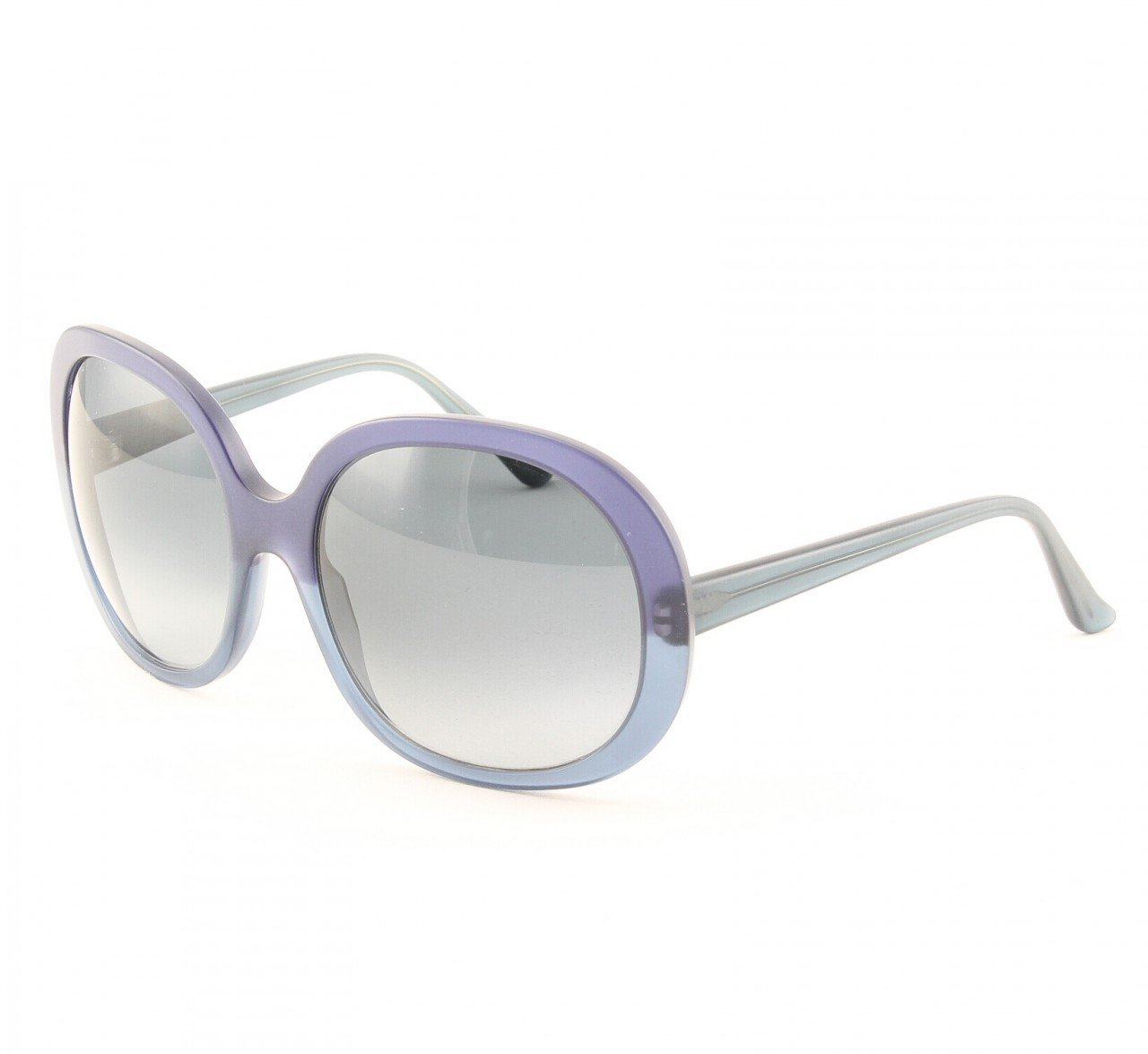 Marni MA221 Sunglasses Col. 01 Opaque Navy Blue with Gradient Gray Lenses