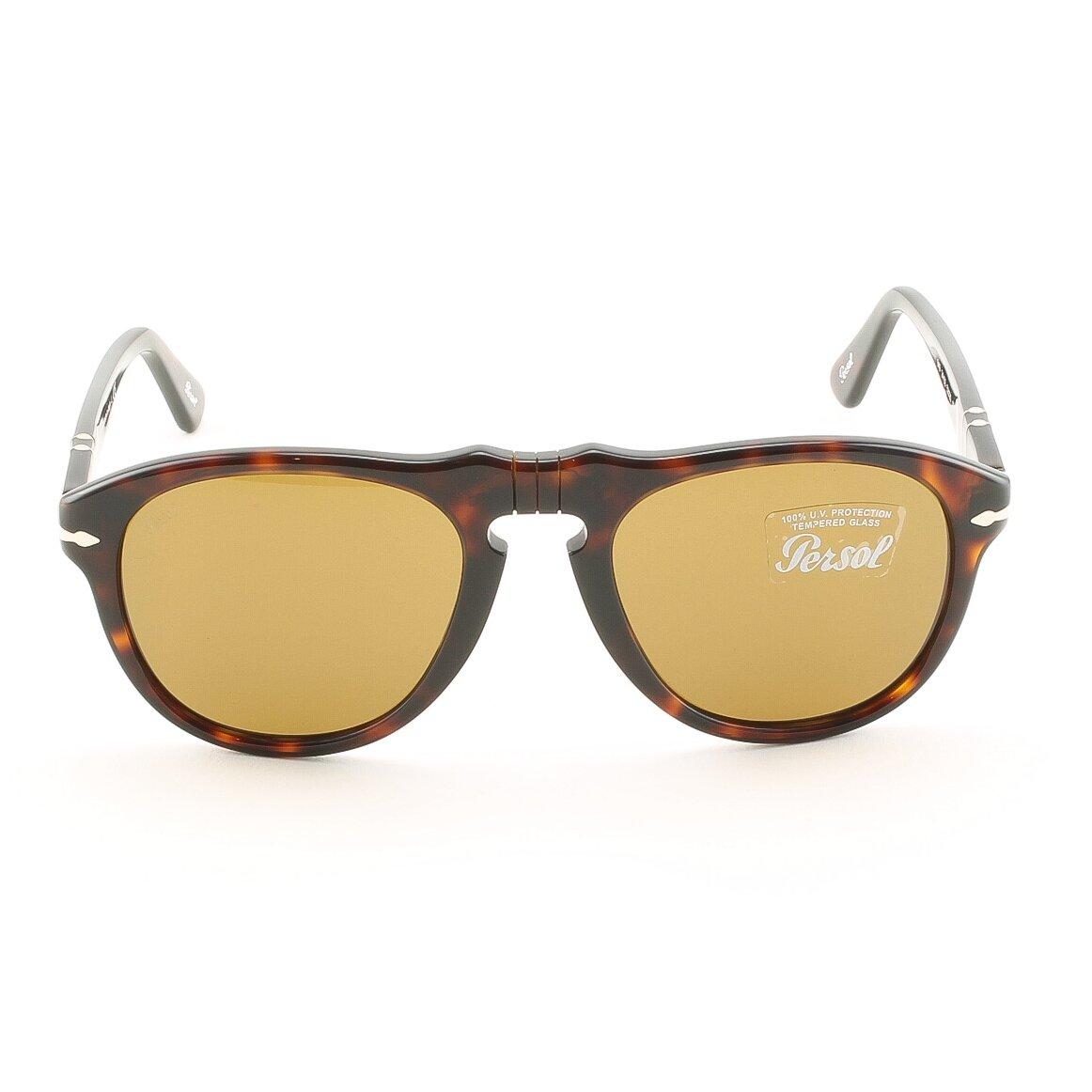 Persol PO0649 24/33 52 mm Havana Sunglasses with Brown Lenses