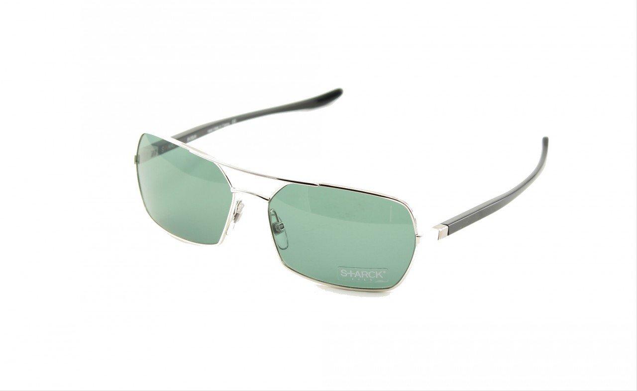 Starck Sunglasses PL0756 Col. 0003 Black Titanium with Black Lenses