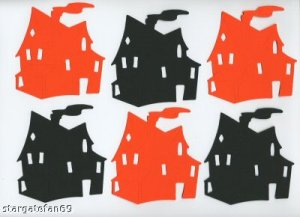 Sizzix Haunted Houses, cut for you