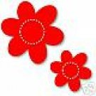 Daisies, Large Red Sizzix