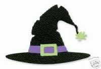 Witch Hat  Halloween  Sizzix Sizzlit