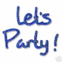 Let's Party (phrase), Sizzix Thin Cut