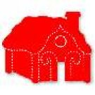 Gingerbread houses, Large Red Sizzix