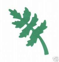 Fern. leaves, fall, tree,  Medium Yellow Sizzix
