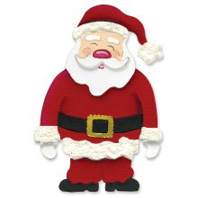 Santa Claus full body  Christmas  Ellison Sizzix Large Red Die