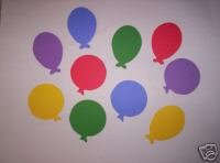 Ballon die cuts  party  celebration  Yellow Sizzix #38-0147