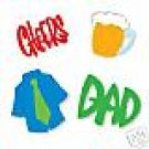 Dad Set die cuts  shirt   beer  cheers  Sizzix #38-8013