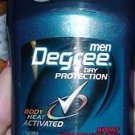"Lot of 9 Degree Men Anti-Deodorant Body Heat Activated ""Sport"" 1.7oz"