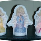 Praying Angels Tea Light Covers 4x4  Machine Embroidery Designs