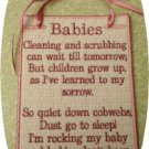 Applique Babies Don't Keep Sampler 5x7 Machine Embroidery Designs