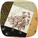 Butterfly Floral Quilt Blocks 6x10 Machine Embroidery Designs