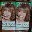 Lot of 2 Clairol Balsam Color 608B Light Bronze Brown #012