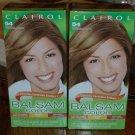 Lot of 2 Clairol Balsam Color 54 Light Golden Brown #011