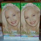 Lot of 2 Clairol Balsam Color 599 Ultra Light Natural Blonde #010