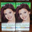 Lot of 2 Clairol Balsam Color 613B Burgundy #007