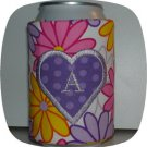 Hearts Monogram Can Coozies 5x7 Machine Embroidery Designs