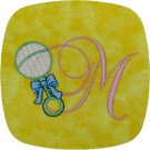 Baby Rattle Font Machine Embroidery Designs