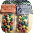 Baby Candy Bag Toppers 4x4 Machine Embroidery Designs