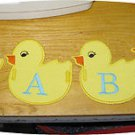 Baby Ducky Banner 4x4 Machine Embroidery Designs