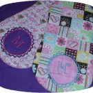 Baby Burpies 7x12 Block & Script Machine Embroidery Designs