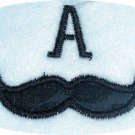 Mustache 1 Font Machine Embroidery Designs