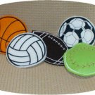 ITH Sports Theme Hand Warmers Machine Embroidery Designs