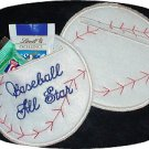Baseball Candy Pocket 4x4  Machine Embroidery Designs