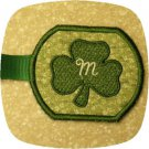 Shamrock Keyring Script Machine Embroidery Designs
