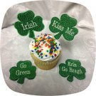 FSL St Pattys Cupcake Toppers 4x4 Machine Embroidery Designs