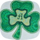 Double Shamrock Applique Satin 5x7 Machine Embroidery Designs