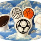 Tea Light Shades Sports Theme Machine Embroidery Designs