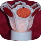 Tea Light Candle Shade Pumpkin 5x7 Machine Embroidery Designs