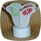 Tea Light Candle Shade Mod Floral 5x7 Machine Embroidery Designs