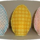 Easter Egg Motif Tea Light Covers Machine Embroidery Designs