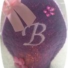 Easter Egg Motif Monogram Tea Light Covers Machine Embroidery Designs