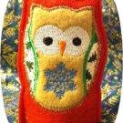 Christmas Tea Light Shade Owl Machine Embroidery Designs