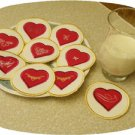 Valentine Cookie Play Food Set 2 Machine Embroidery Designs