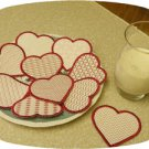 Valentine Cookie Play Food Set 3 Machine Embroidery Designs