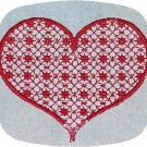 Lace Hearts 4x4 Machine Embroidery Designs