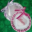 Lace Heart Sachet 4x4 Machine Embroidery Designs