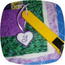 FSL Heart ID Tags 1.5in Script Machine Embroidery Designs