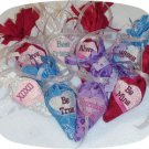 Candy Heart Treat Bags 5x7 Machine Embroidery Designs