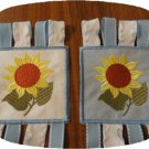 Sunflower Windsock 4x4 Machine Embroidery Designs