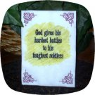 Words of Wisdom God Gives 5x7 Machine Embroidery Designs